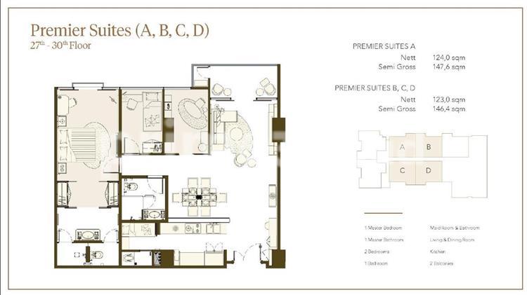 Premier Suites (3BR A+)